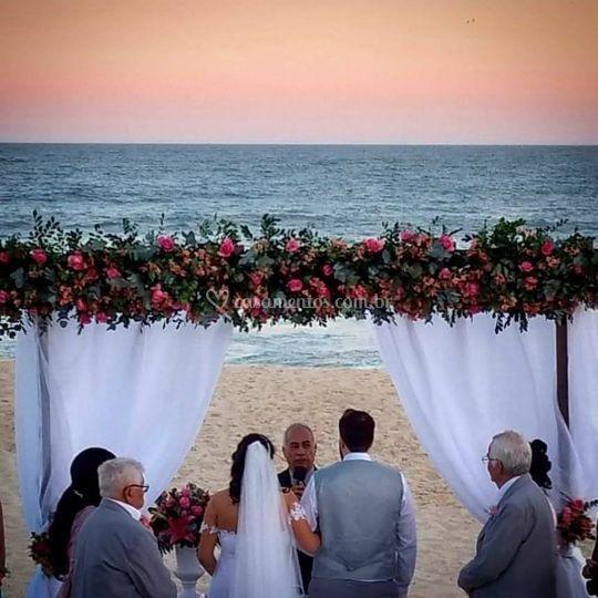 Casamento praia Pontal