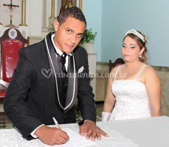 Mais uma foto do casamento