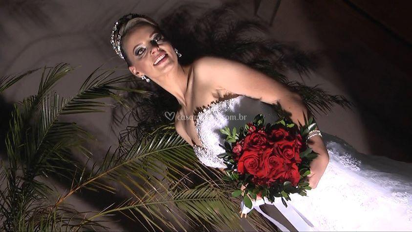 Noiva pós-cerimônia