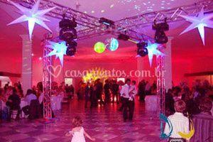 Pista de dança quadriculada
