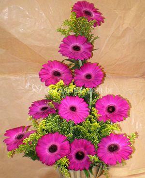 Arranjos com flores naturais