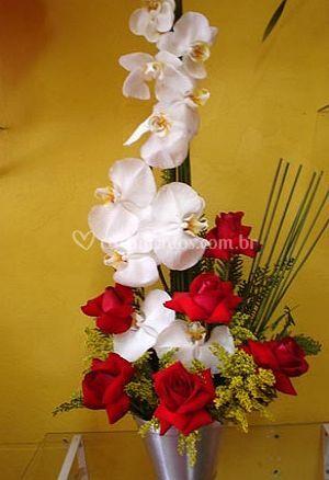 Flores para a cerimônia
