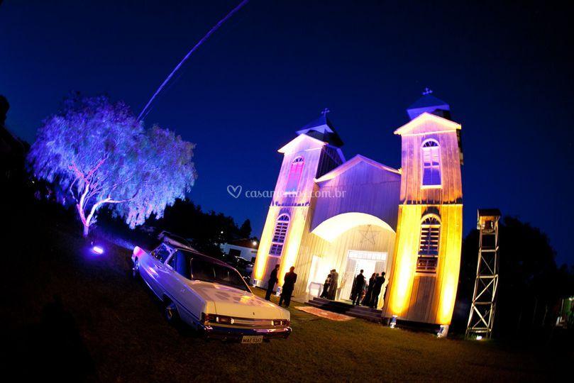 Iluminação para igrejas