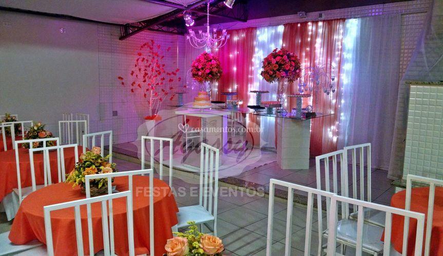 Decoração de Salão de Festas Ágassy