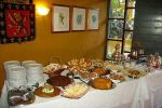 Buffet tabela de Mans�o da Ilha