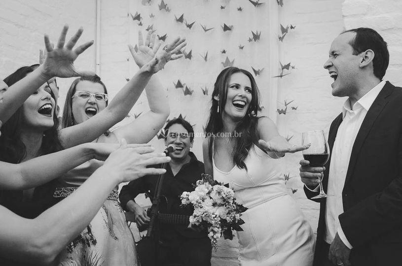 Mini Wedding Natália e Guto