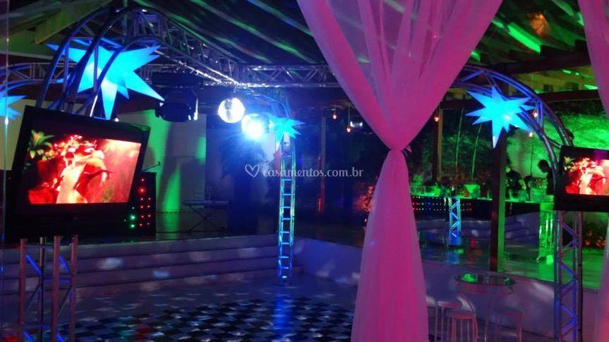 Iluminação para o seu evento