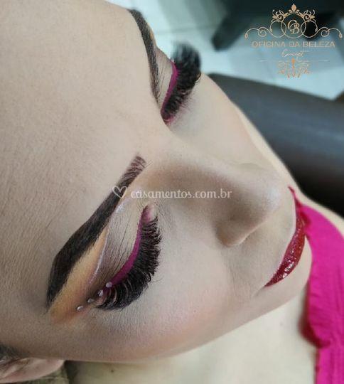 Maquiagem festa