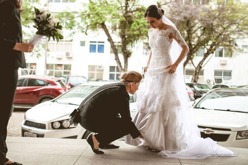 Antes da Entrada da Noiva