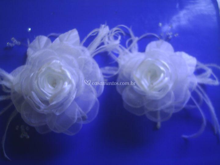 Flores de org. cristal