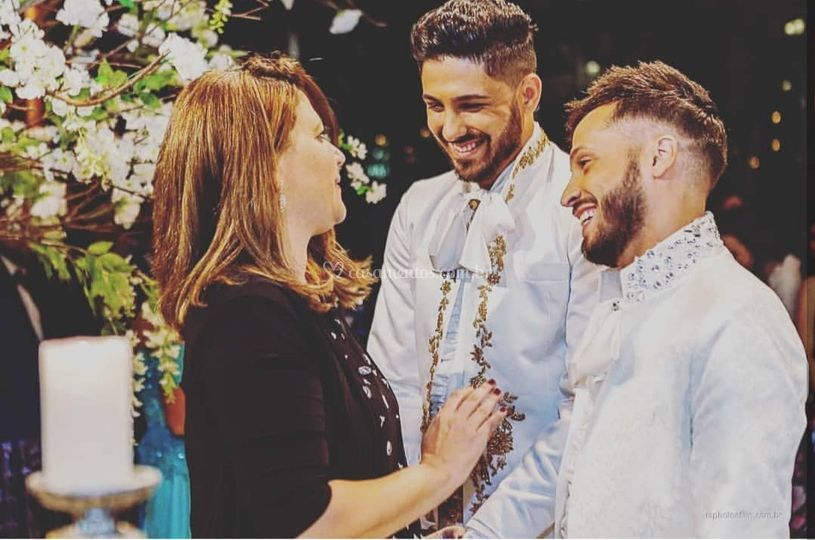 Casamento no casale rústico