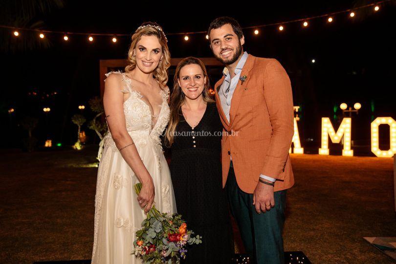 Eu e meus queridos noivos