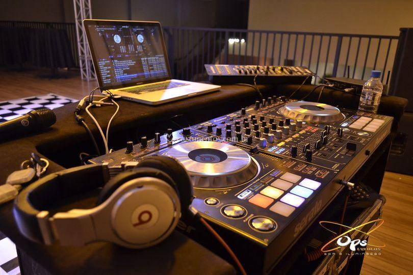 Aparelhagem do DJ