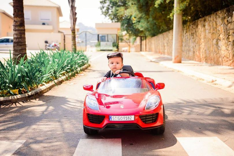 Porsche - Modelo Vitor 6 meses