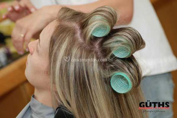 Profissionais de cabeleireiro