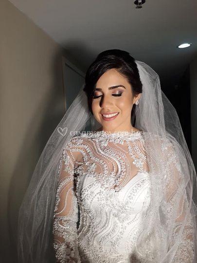 Noiva Adrielle Mangabeira