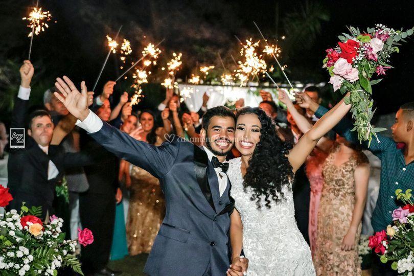 Enfim casados!!!