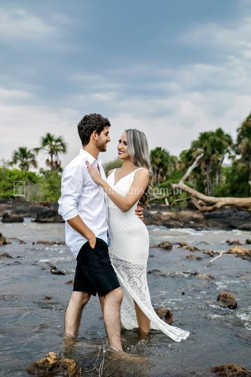 Um lindo casal ...