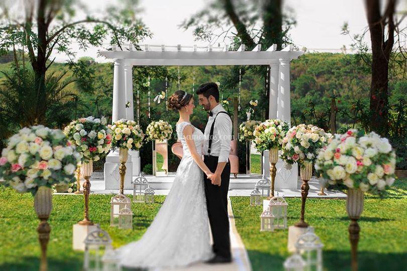 Jardim para cerimônias