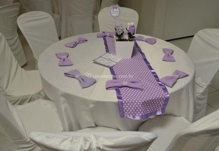 Mesas de decoração