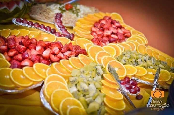 Borboletas de fruta mesa do bu