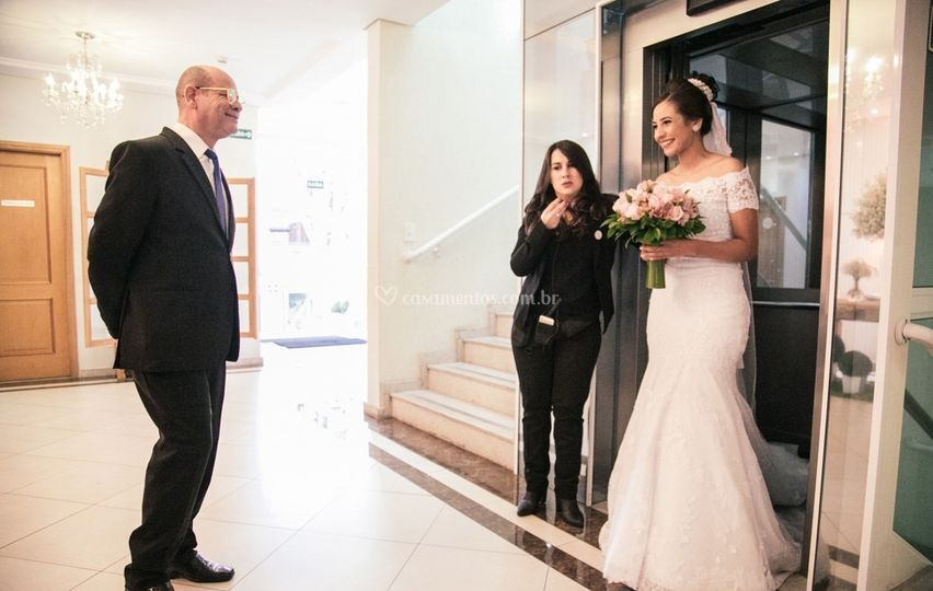Preparação da entrada da Noiva