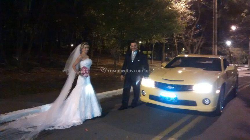 Casamento com o Camaro
