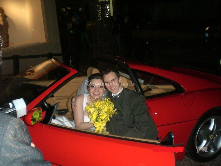 Casamento com Ferrari F355