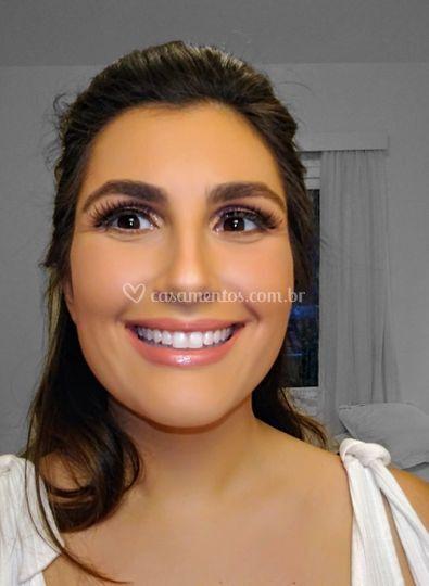 Teste de Makeup noiva