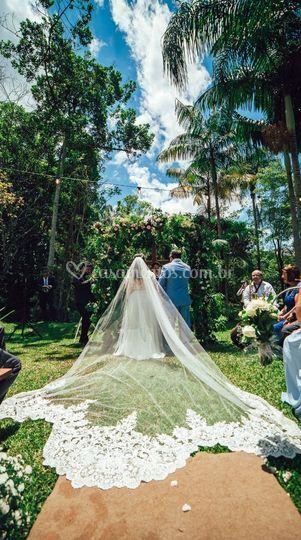 Espaço para cerimônia