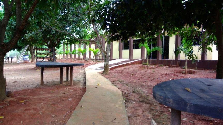 área externa