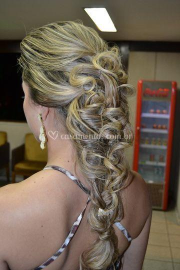 Penteado para convidadas