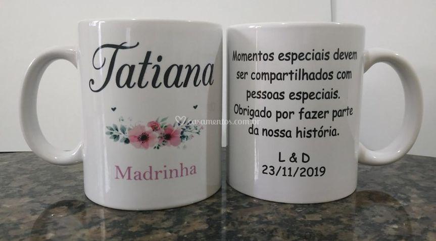Caneca Madrinha