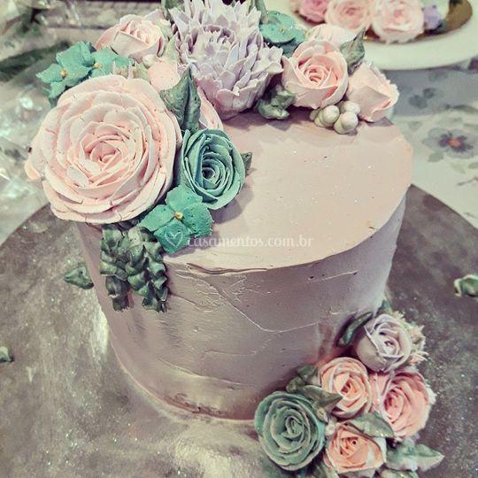 Delicadeza em forma de bolo