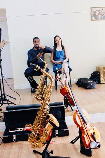 Sax & Violino