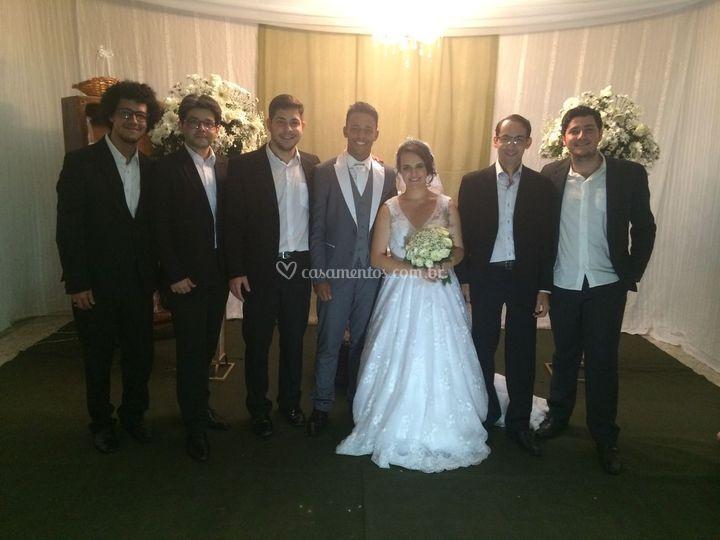 Casamento do Thalles