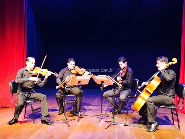 Quarteto Romanza Gravação
