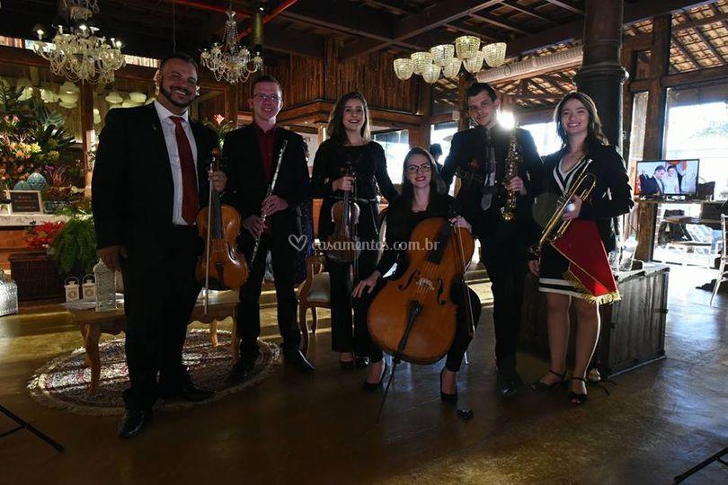 Quinteto em Tiradentes