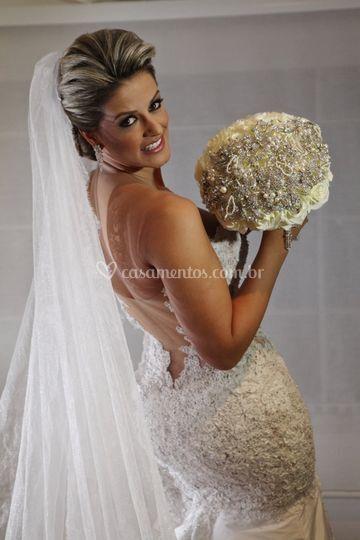 Liliane Caldas noiva brasilia