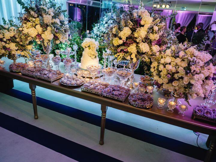 Mesa doces - casamento