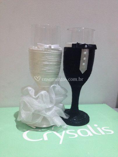Taça para casamento