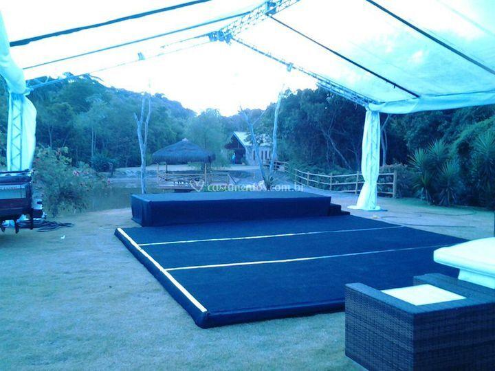Tablado - palco