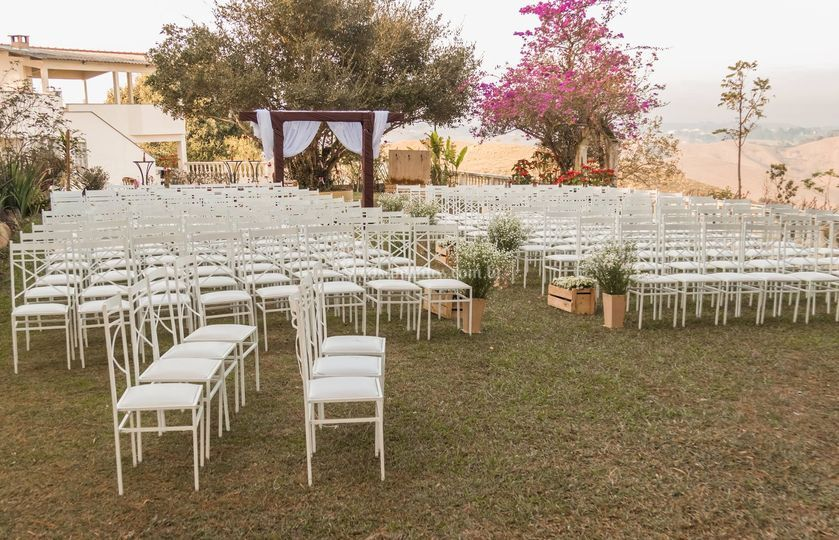Cadeiras + Cerimônia