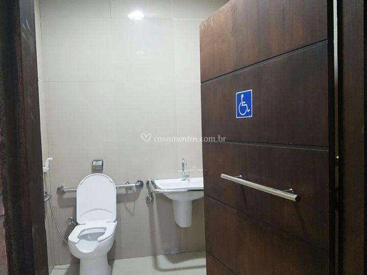 Banheiro cadeirante
