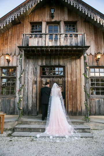 Noiva vestido rosa nude
