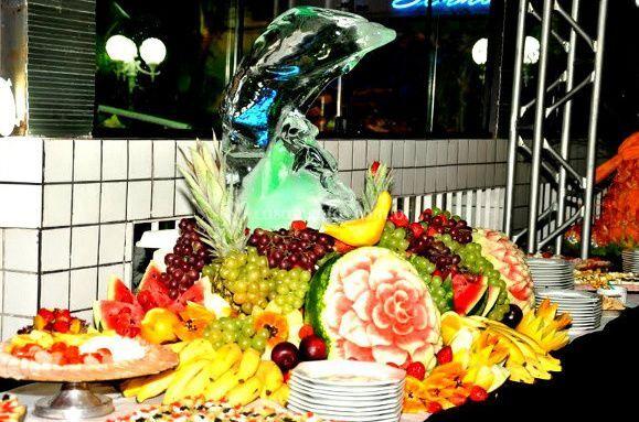 Frutas e frios