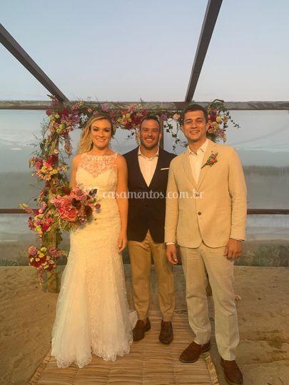 Casamento Celebrado em Búzios