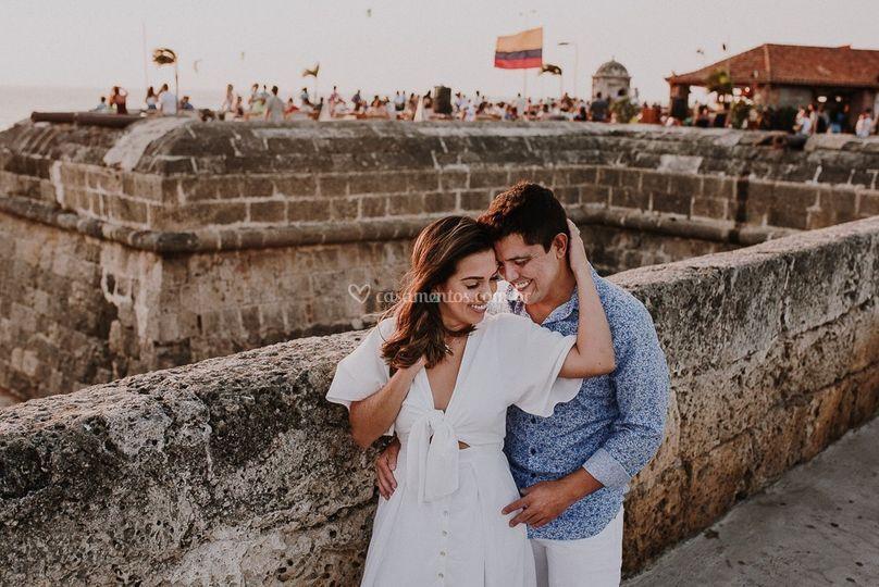 Isa e Alexandre em Cartagena