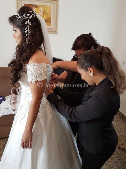 Acompanhamento do dia da noiva