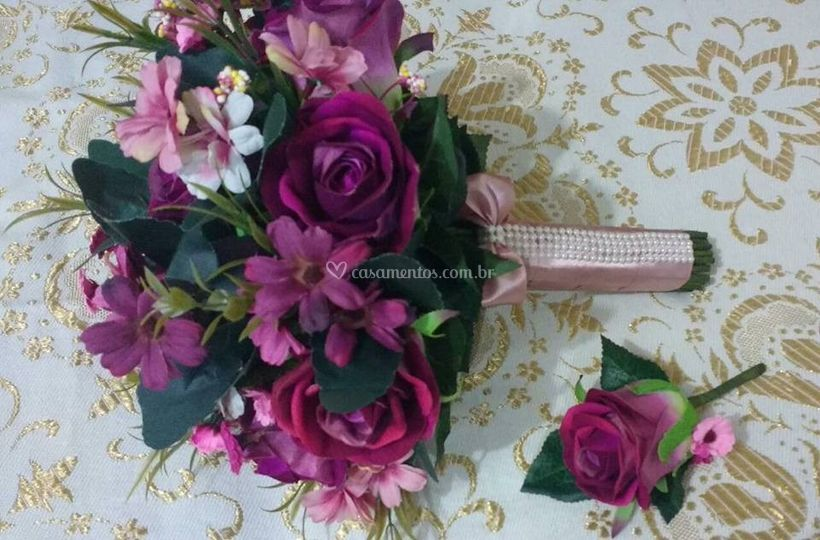 Buquê flores permanentes